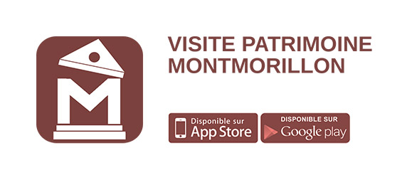 Application Montmorillon Patrimoine